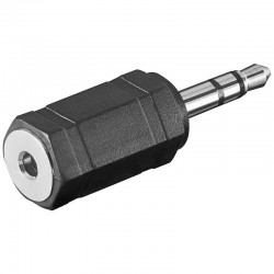 Adaptador de Audio Jack 3,5 Macho a 2,5 Hembra