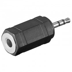 Adaptador de Audio Jack 2,5 Macho a 3,5 Hembra