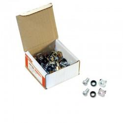 Caja de Tornilleria: 50 unidades M6 x 15 mm