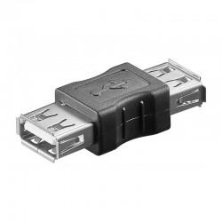 Adaptador USB 2.0 A Hembra - A Hembra Goobay 50293