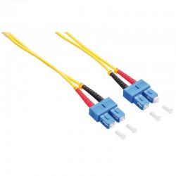 Logilink FP0SC02 - 2m Cable Fibra Óptica OS2 SC-SC 9/125 MonoModo Duplex
