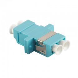 Acoplador Fibra Optica LC/LC Duplex, Multimode OM3 Logilink FA02LC3