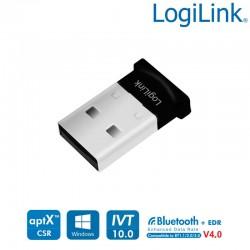 Logilink BT0037 - Conversor USB a Bluetooth V4.0,100m | Marlex Conexion