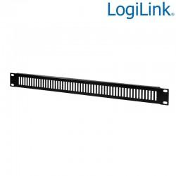 "Logilink PN111B - Panel ciego ventilado de 19 "" 1U, negro"