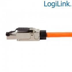 Logilink MP0040 - Conector RJ45 FTP Cat.6A 10 GbE Macho ''toolles''