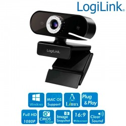 Logilink UA0371 - Web Cam USB 1920x1080p FULL HD