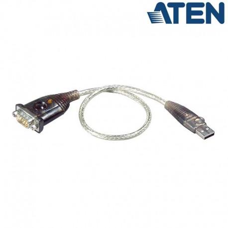 Aten UC232A - Conversor USB a Serie RS-232 (cable 35 cm) | Marlex