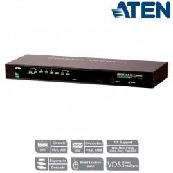 "Aten CS1308 - KVM de 8 Puertos USB&PS/2 VGA para Rack 19"""