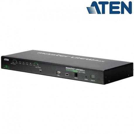 Aten CS1708i - KVM 8Puertos USB PS/2 VGA Sobre IP para Rack 19'