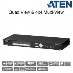 Aten CM1164A | KVMP™ de 4 puertos Multivista DVI-D USB | Marlex