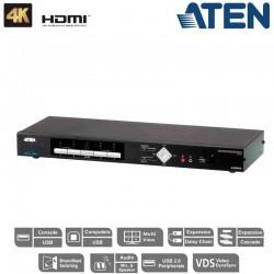 Aten CM1284 | KVMP™ de 4 puertos Multivista HDMI 4k USB | Marlex