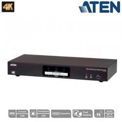 KVM de 2 Puertos USB 3.0 DisplayPort Dual View Aten CS1942DP