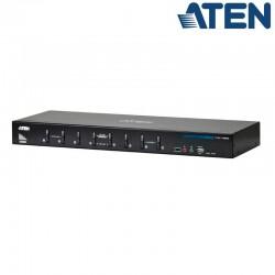 Aten CS1788 - KVM de 8 Puertos USB DVI Dual Link con Audio y Hub USB 2.0