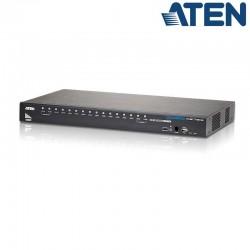 Aten CS17916 - KVM de 16 Puertos USB HDMI Audio Hub USB 2.0 Rack 19''