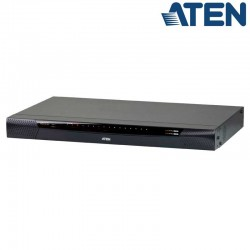 ATEN KN1116VA - KVM Cat 5e/6 de 16 Puertos sobre IP de 2 buses con Audio y Virtual Media