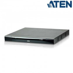 Aten KN2116VA - KVM Cat 5e/6 de 16 Puertos sobre IP de 3 buses con Audio y Virtual Media