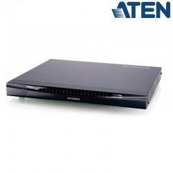 KVM Cat 5e/6 de 24 Puertos sobre IP de 3 buses con Audio y Virtual Media Aten KN2124VA