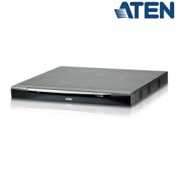 Aten KN4116VA - KVM Cat 5e/6 de 16 Puertos sobre IP de 5 buses con Audio y Virtual Media