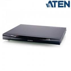 KVM Cat 5e/6 de 40 Puertos sobre IP de 5 buses con Audio y Virtual Media Aten KN4140VA