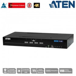 "Aten CS1184DP KVM de 4 puertos USB DisplayPort , ""secure"""