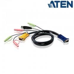 3m USB VGA KVM Cable con Audio Aten 2L-5303U