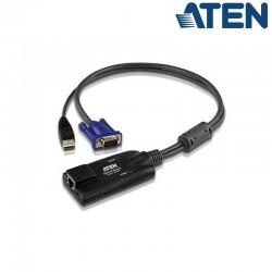 Cable adaptador KVM USB-VGA a Cat5e/6 Aten KA7570