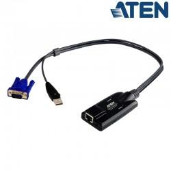 Adaptador KVM USB-VGA a Cat5e/6 Aten KA7170