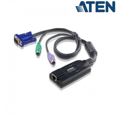 Aten KA7520 - Adaptador KVM PS/2-VGA a Cat5e/6 Módulo para CPU