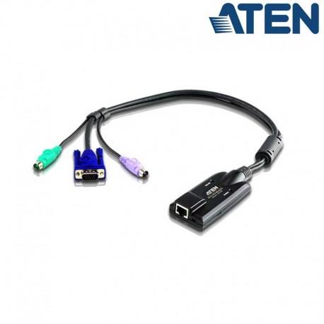 Aten KA7120 - Adaptador KVM PS/2-VGA a Cat5e/6 Módulo para CPU