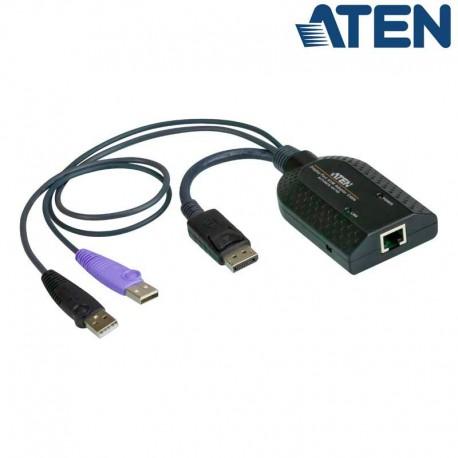 Aten KA7169 - Adaptador KVM USB-DisplayPort a Cat5e/6 (Virtual Media) Módulo para CPU
