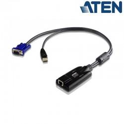 Adaptador KVM USB-VGA a Cat5e/6 (Virtual Media) Aten KA7175