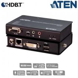 Extensor KVM USB-DVI (100m), HDBaseT, USB Perif, Aten CE611