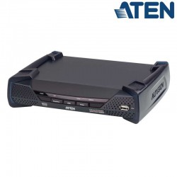 Receptor KVM USB DVI-D (2K x 2K) sobre LAN, con Audio y RS232 Aten KE6910R