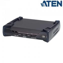 Receptor KVM USB DVI-D (2K x 2K) sobre LAN, PoE Aten KE6912R
