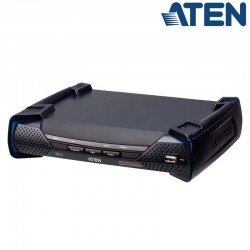 Receptor KVM USB-DVI-I con Audio y RS232 sobre LAN Aten KE6900AR