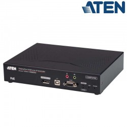 Transmisor KVM USB-DisplayPort 4K con Audio y RS232 sobre LAN con POE Aten KE9952T