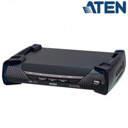 Receptor KVM USB-DisplayPort 4K con Audio y RS232 sobre LAN con POE Aten KE9952R