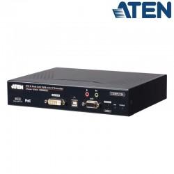 Transmisor KVM USB DVI-D (2K x 2K) sobre LAN y Dual SFP con POE Aten KE6922T