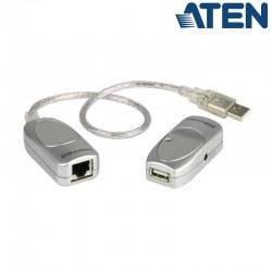 Aten UCE60 - Extensor USB 1.1 sobre Cat.5e/ 6 (60m) | Marlex Conexion