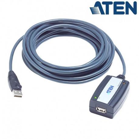 Aten UE250 - Cable Amplificador USB 2.0 (5m)   Marlex Conexion