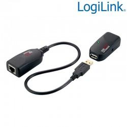 Extensor USB 2.0 sobre Cat.5e/ 6 (50m) Logilink UA0178