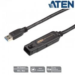 Aten UE3315A - Cable Amplificador USB 3.0 (15m) | Marlex Conexion