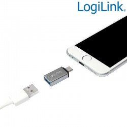 Logilink AU0042 | Adaptador USB 3.1 Tipo C a USB 3.0 Hembra