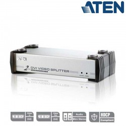 Aten VS162 - Video Splitter DVI 2 puertos con Audio