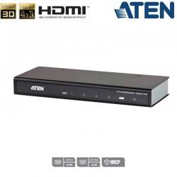 Aten VS184A - Video Splitter HDMI 4Kx2K de 4 puertos