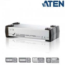 Aten VS164 - Video Splitter DVI 4 puertos con Audio