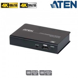 Aten VS192 - Video Splitter Display Port 4K 2 puertos