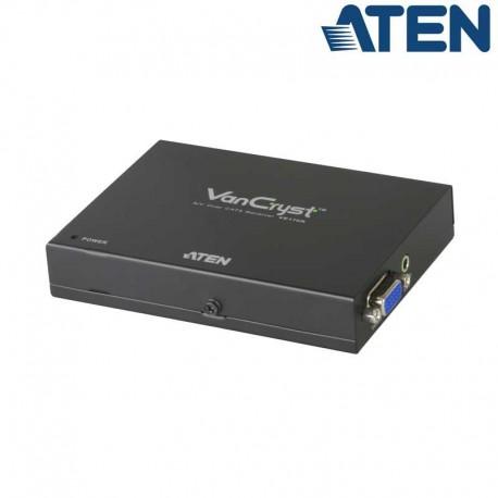 Aten VE170R -Receptor VGA sobre Cat5e/6 con Audio | Marlex Conexion