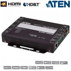 Aten VE3912T - Conmutador transmisor DisplayPort, HDMI y VGA HDBaseT con POH (4K a 100 m)