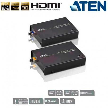 Aten VE882 - Extensor óptico HDMI (1080p a 600m)